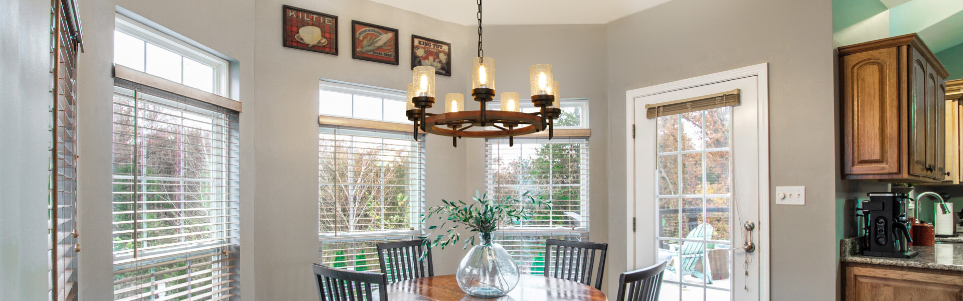 Pendant Lamp with Glass Shade